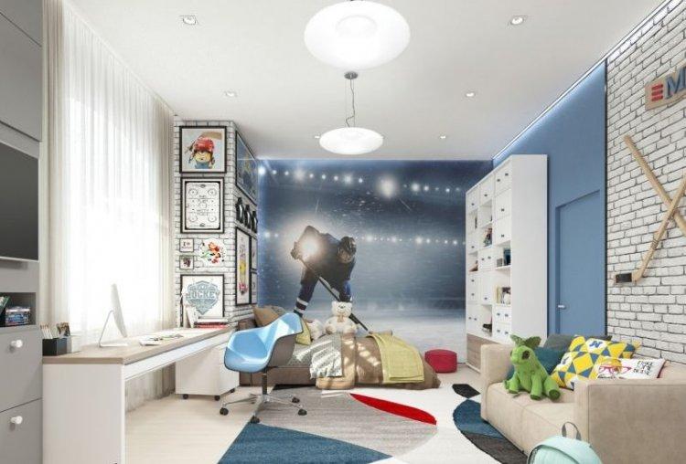 Аспекты создания комнаты для школьника